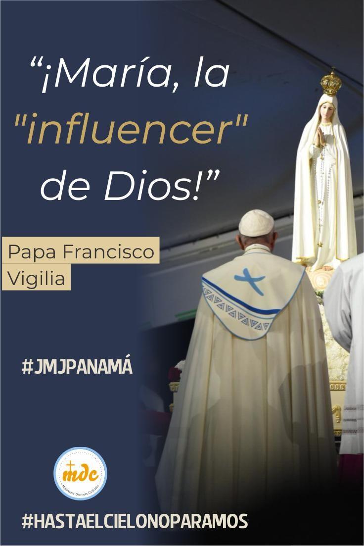 María La Influencer De Dios Influencer Papa Francisco Papa