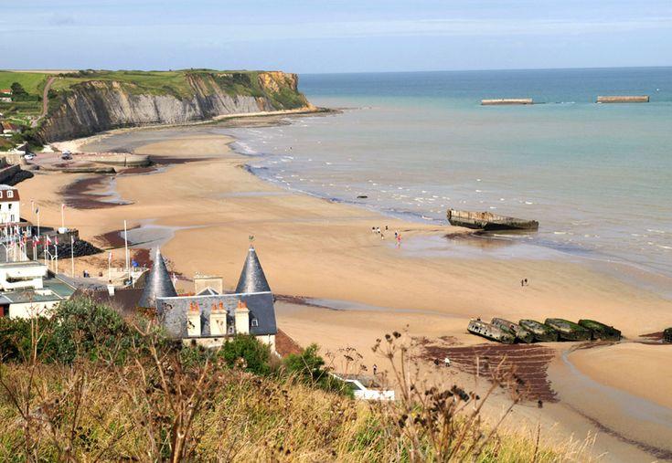 Port Arromanches, Normandy, France