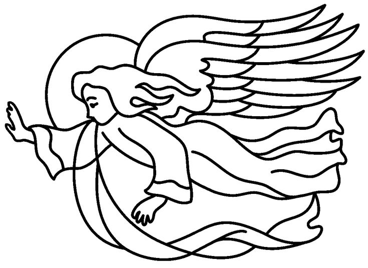christmas symbols coloring pages - photo#19