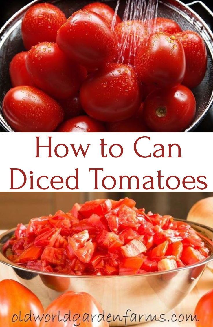 Learn How To Can Diced Tomatoes And You Will Save Time Money And Be Able To Enjoy The Deli Canning Diced Tomatoes Canning Recipes Recipes With Diced Tomatoes