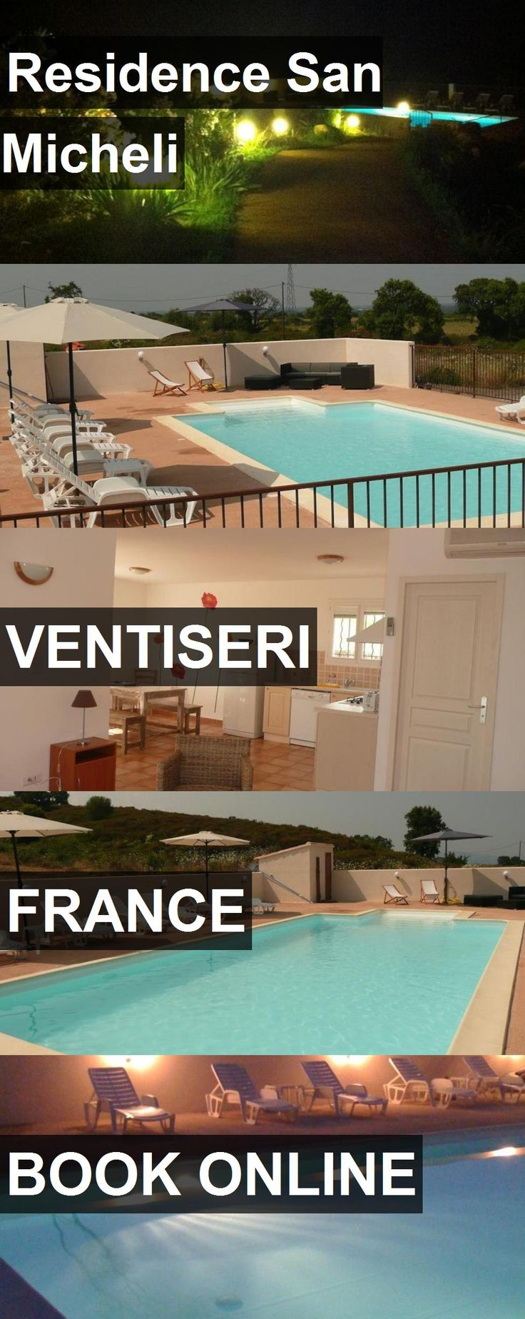 Hotel Residence San Micheli in Ventiseri, France. For more information, photos, reviews and best prices please follow the link. #France #Ventiseri #travel #vacation #hotel