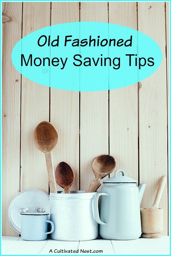 Many of the strategies that our grandparents used still work today, so why not given them a try too? Take a look at these 8 old fashioned money saving tips that still work today and are well worth trying out!