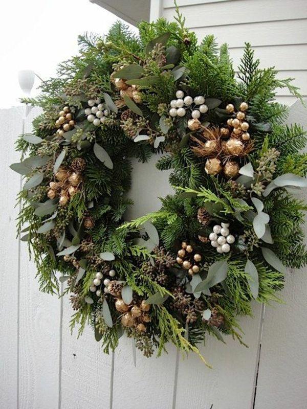 adventskranz bilder weihnachtsdeko