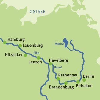 Elberadweg - Radreise - Radtour Berlin - Hamburg - Augustus Tours