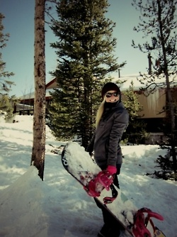 Im getting the itch to go snowboarding