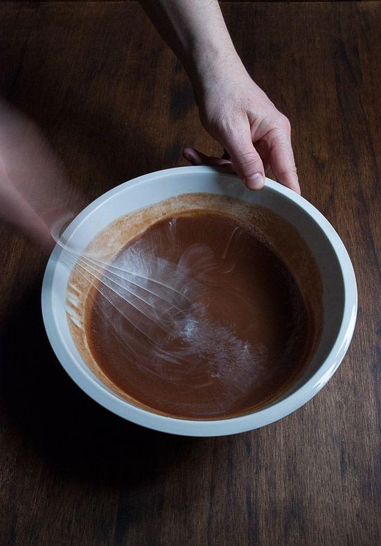 Receta coulant de chocolate 3