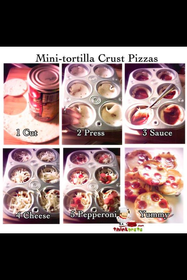 Fantastic! Simple easy recipe / idea for kids lunch or snack! Mini pizzas so simple and I bet every child will love them! Even the picky children . Make it fun by letting them make these themselves!