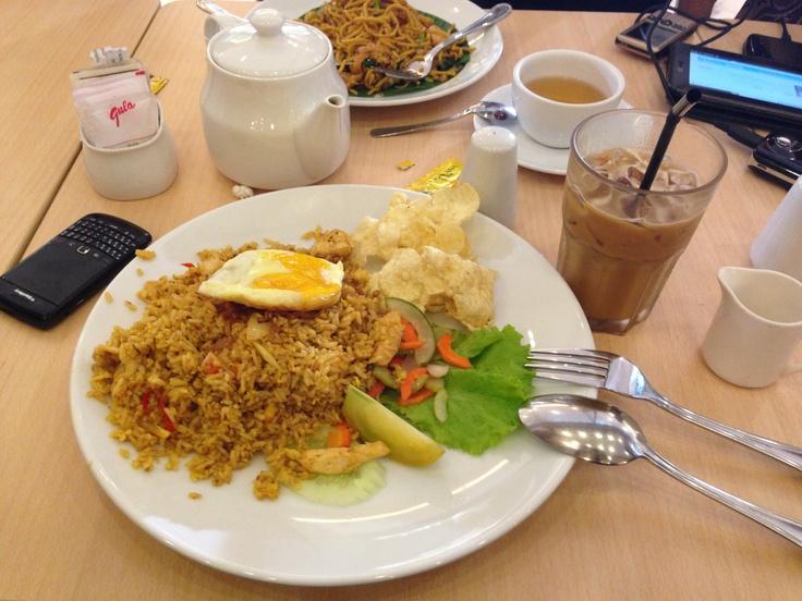 Chicken Fried Rice @ Kopitiam