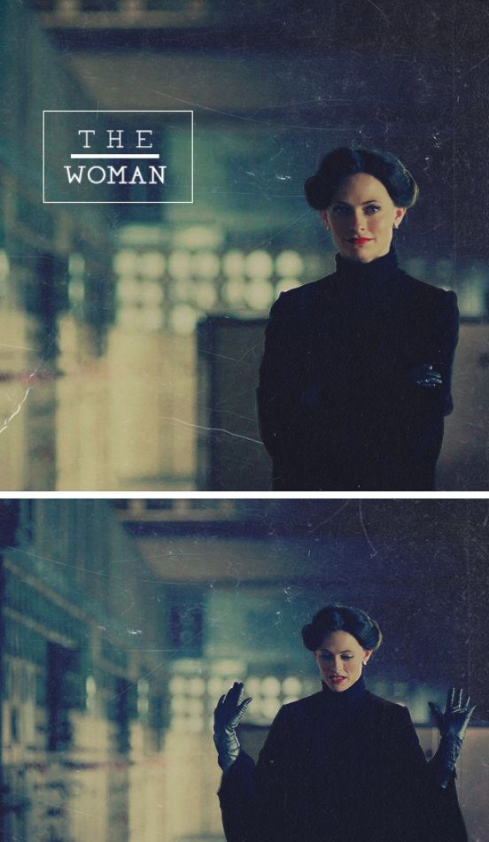 Sherlock Irene Adler A little black dress, long gloves, black cape
