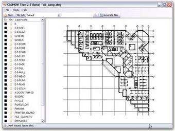 RSC, LLC.'s cadNOW - a web based AutoCAD drawing viewer