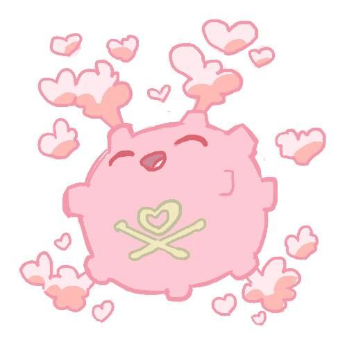 Loveable pink Weezing