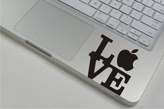 #love #loveit #macbook #sticker #decal