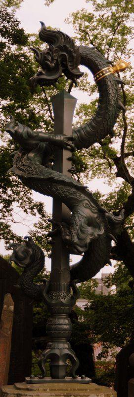 Temple statue, Narita, Japan Copyright: Halgeir Vaage