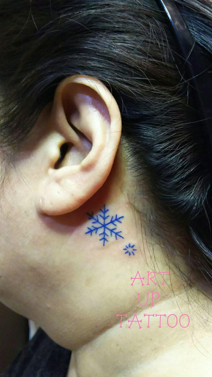 雪の結晶   #tattoo #tattoos #tattooart #tattooartist #tattooshop #art #bodyart #ink #SnowCrystal #タトゥー #タトゥースタジオ #インク #アート #ボディアート #アートアップタトゥー #ワンポイント #耳の後ろ #雪の結晶 #東京タトゥー #日野タトゥー #祐 #女性 #女性彫師