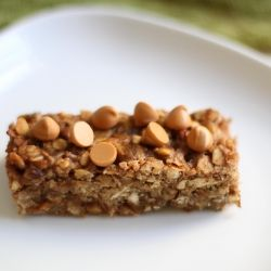 Honey Peanut Butter Pretzel Granola Bars
