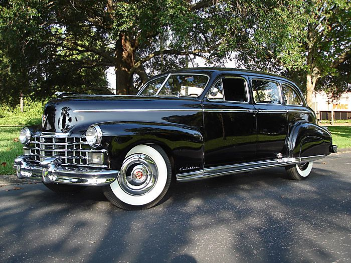 1948 Cadillac Series 75 Limousine Maintenance/restoration