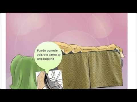 Descubre como hacer tu misma tus forros para tus sillones - YouTube