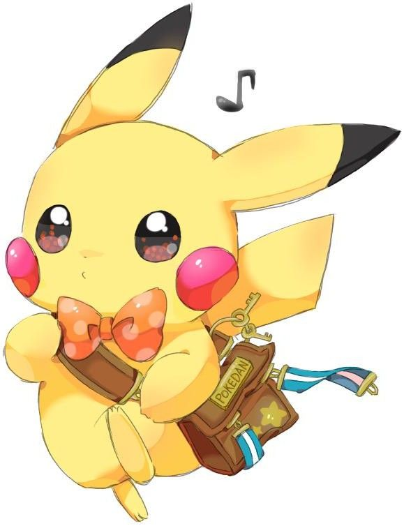 1000 images about pokemon on pinterest trainers ash - Kawaii pikachu ...