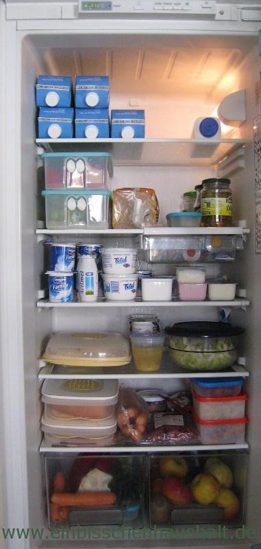 Ein bisschen Haushalt Ordnung \ Sauberkeit im Kühlschrank - ordnung im küchenschrank