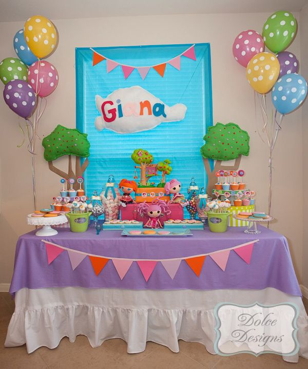 Lalaloopsy Cake Decorating Kit : Lalaloopsy Party via Kara s Party Ideas KarasPartyIdeas ...