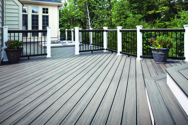 Trex Transcend decking in Island Mist was named to the list of Top 100 Products of 2015: Outdoor Living by @probuilder.