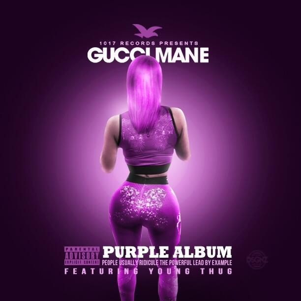 """World War 3D: The Purple Album"" by Gucci Mane & Young Thug - Released: June 16, 2014 - >> http://www.datpiff.com/Gucci-Mane-Young-Thug-The-Purple-Album-mixtape.621767.html <<"