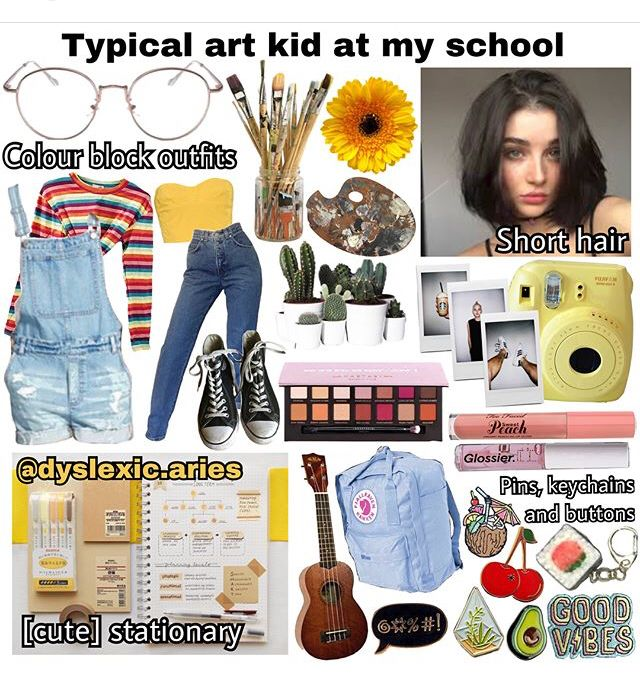 Pin By Jaime Dollaga On Outfits Estilos Artsy Outfit Colorful Style Outfits Art Hoe Fashion