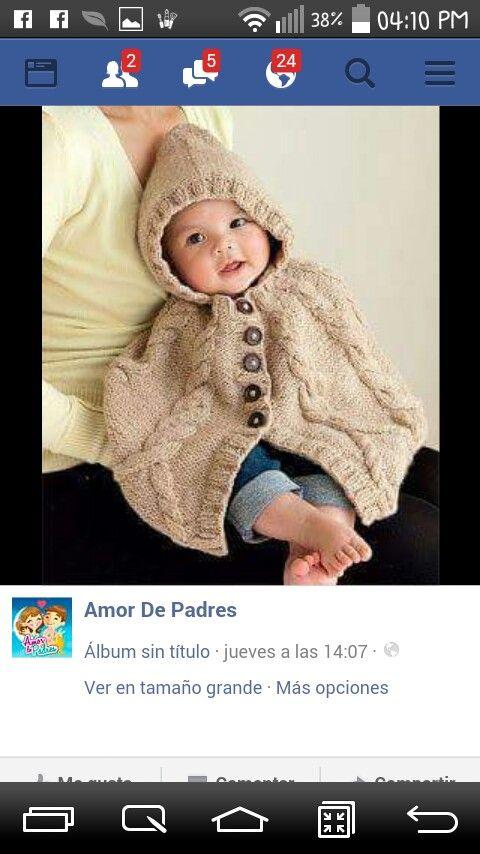 95 best para tejer bb images on Pinterest | Tejer, Dos agujas y Niños