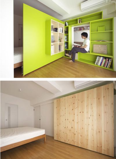 Switch Apartment in Japan by Yuko Shibata | Design Milk Brilliant!