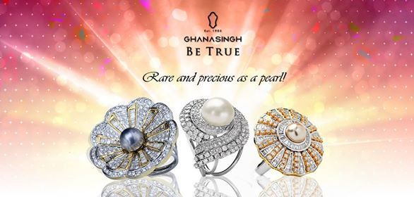Which pearl ring from Ghanasingh Be True do you like the most? #Fashion #Jewellery