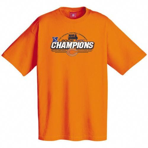 Chicago Bears NWT NFL 2006 NFC Conference Champions t-shirt VF Imagewear DA Bear