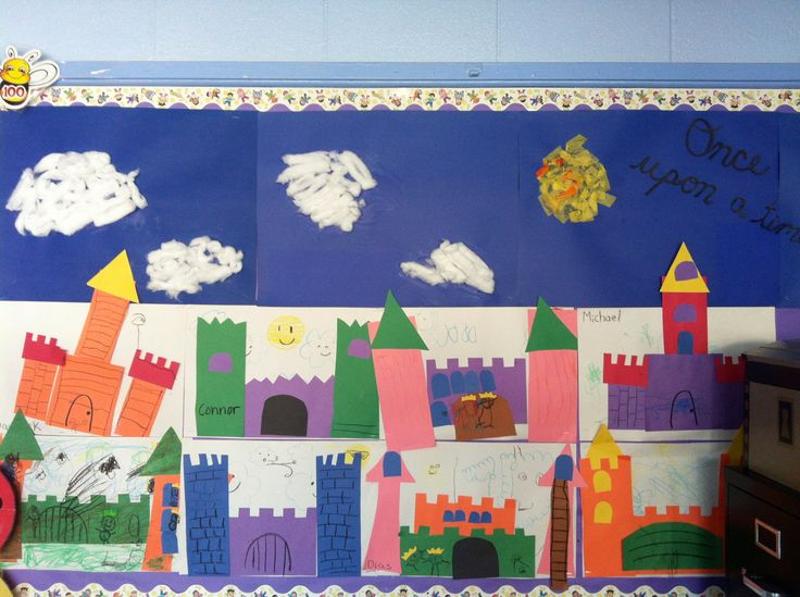Shape Castles - Fairy Tale Theme, could definitely structure up this idea a little bit