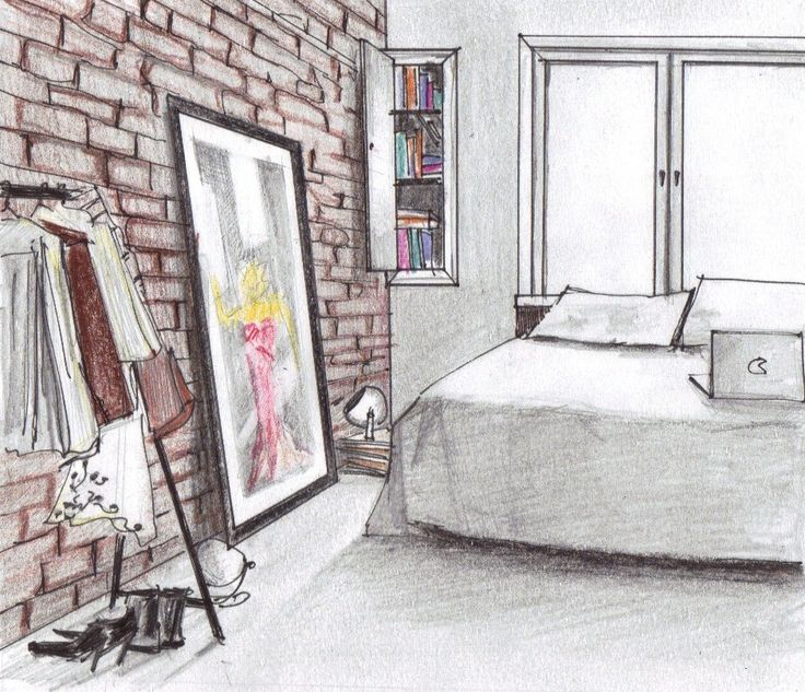 Bedroom Perspective: 13 Best Images About Interior Perspective Ref On Pinterest