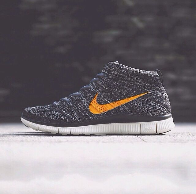 Trailing yesterday's teaser image, today we bring a closer look at the Nike  Free Flyknit Chukka SP. Sporting a marbled black and grey Flyknit upper, ...