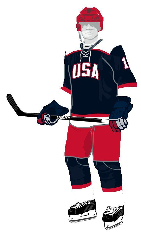 Картинка форма хоккеиста