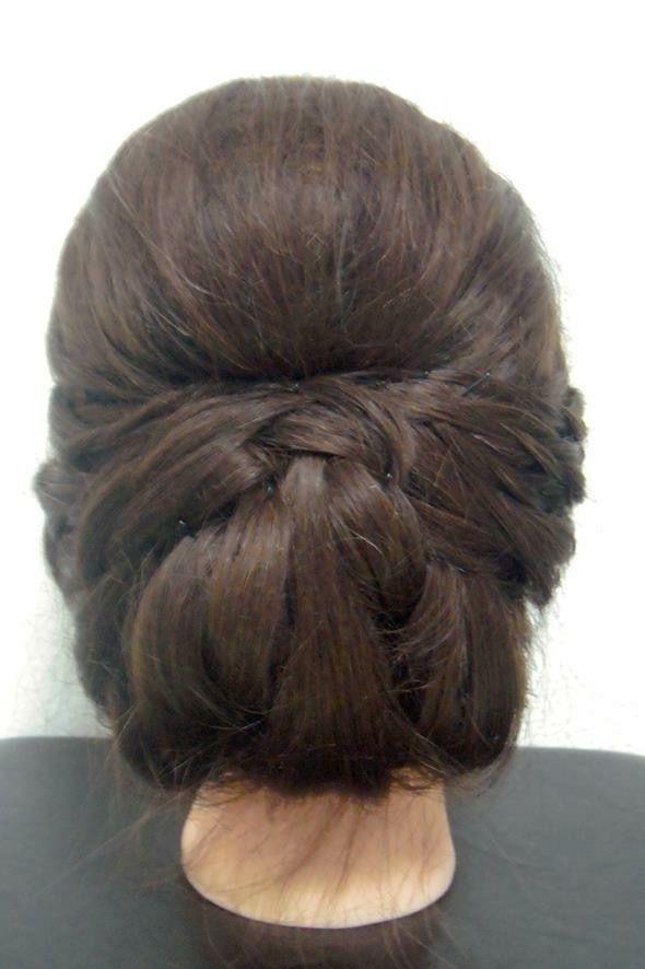 Classic Bridal Hair Updo. #Bridal