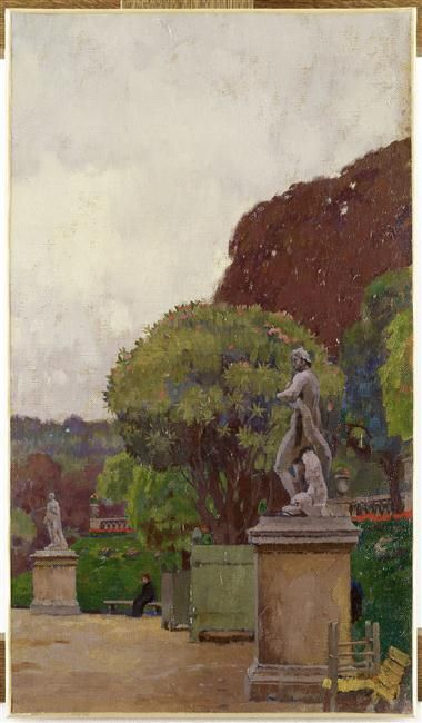 17 best images about georges paul leroux 1877 1957 on pinterest villas provence and mars - Musee jardin du luxembourg ...