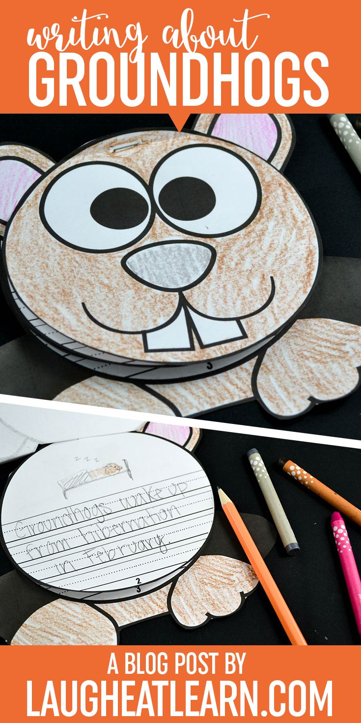 Celebrate Groundhogs Day with these curious groundhog writing crafts. They are the perfect way for kids to write about any type of story during the month of February. I've collected a list of writing prompts that can easily be used with these writing books. These activities can be quick and easy books to share at school or home with parents!