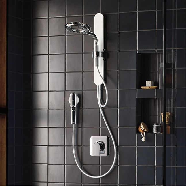 Nebia By Moen 1-spray 8 In Dual Shower Head And Handheld Shower Head //magnetic