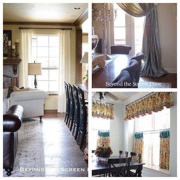 1135 Best Images About Curtains On Pinterest Drop Cloth