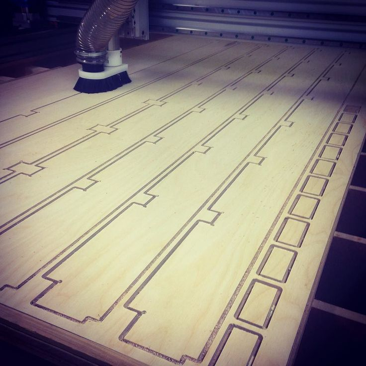 Busy week at our sister company @thecncproject cutting out birch ply trusses for a micro-home project we're doing in Bristol #interiordesign #cnc #birchply #microhome #tinyhouse #tinyhouseliving #bristolmade #fabrication #alternativeliving