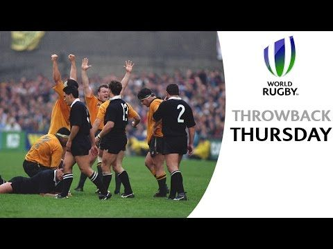 Unbelievable skill from David Campese in the 1991 RWC - YouTube