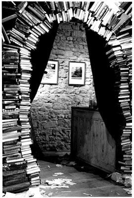 "Book Archway, inspiration from ""Too Loud a Solitude"" by Bohumil Hrabal"