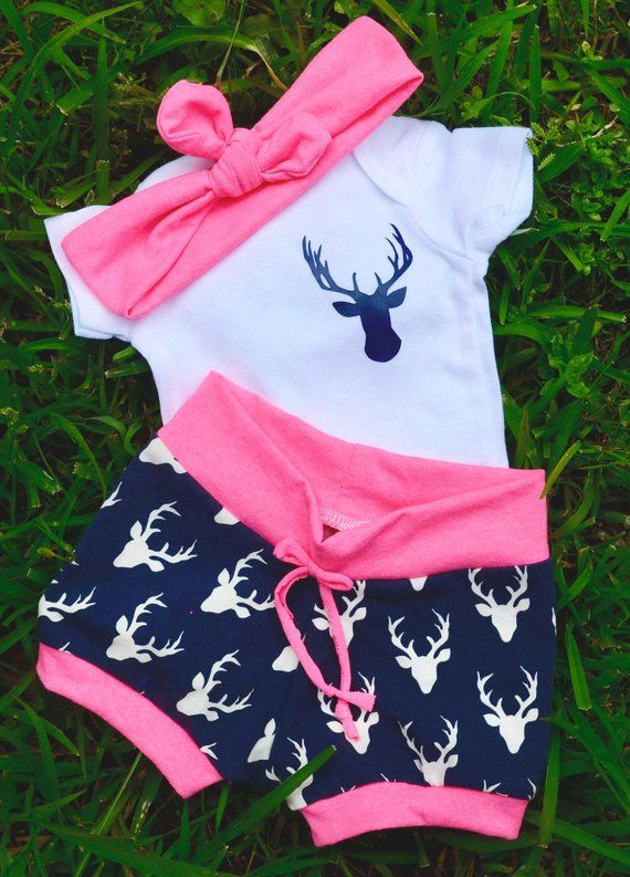 7daccde0145a8 baby girl coming home outfit-take home outfit-stag outfit-navy and pink-newborn  baby clothing-hunting outfit-camo outfit-neon pink outfit