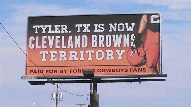 Johnny Manziel and Former Cowboy Fans Put Up a Billboard in Tyler, TX