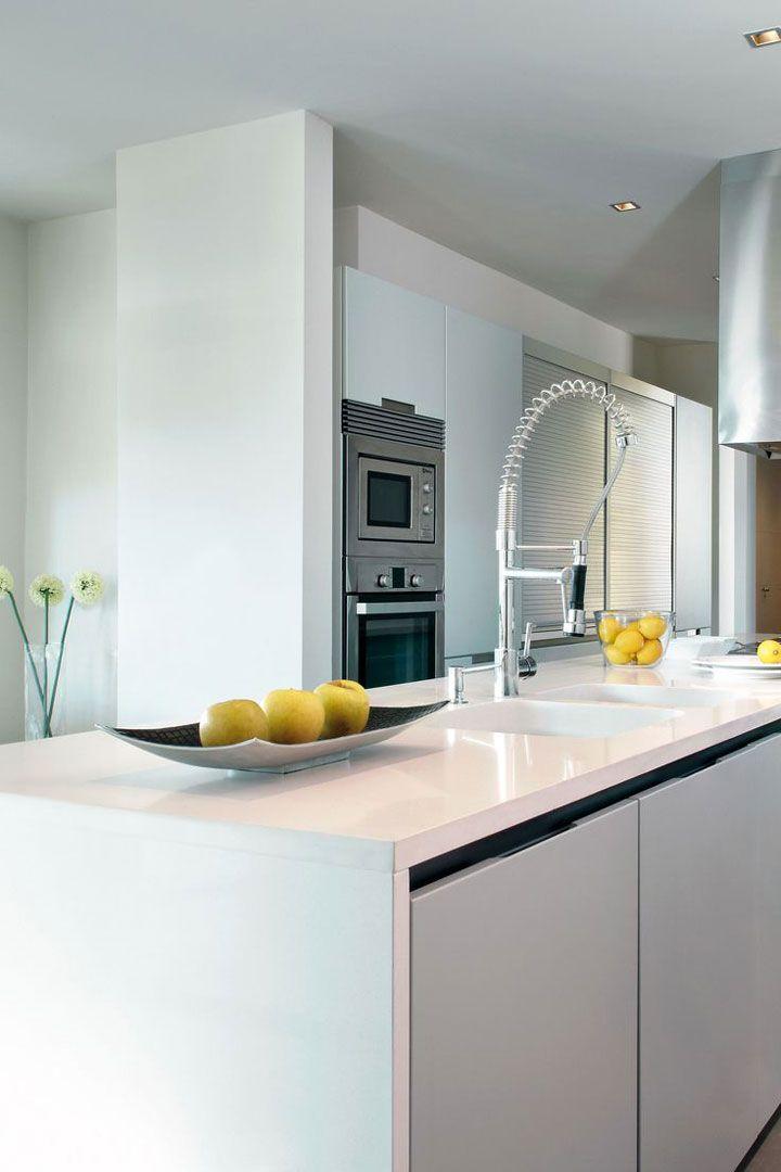 keukeneiland met dekton werkblad
