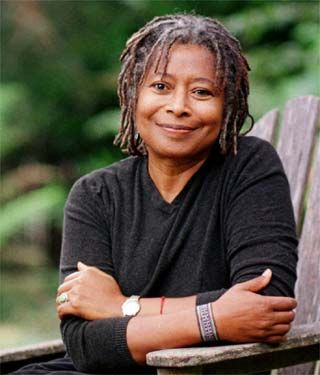 Alice Walker, author of The Color Purple, among others, and saviour of the work of 'Their Eyes were Watching God' author, Zora Neale Hurston