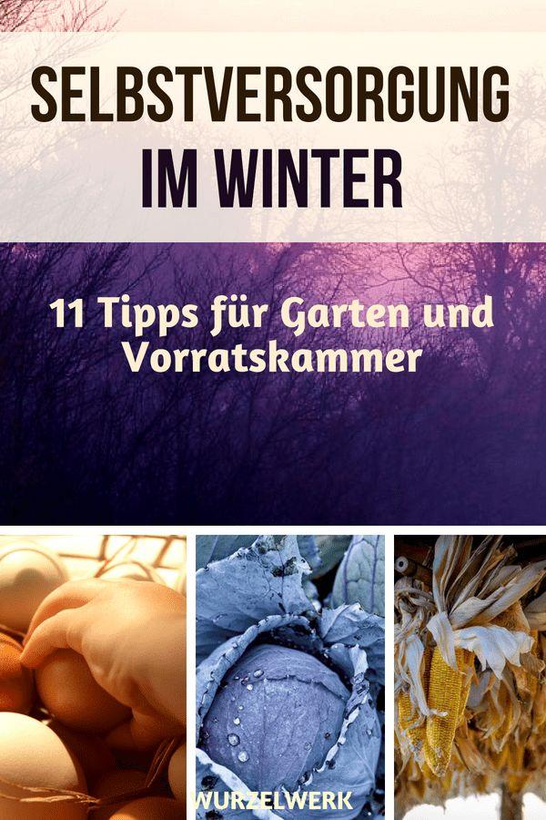 11 Tipps für die Selbstversorgung im Winter