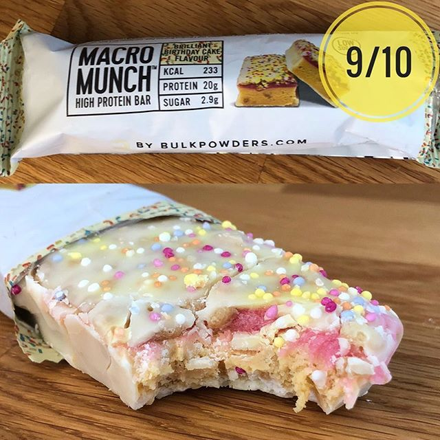 Todays Review Is A New One From Bulk Powders Macro Munch Brilliant Birthday