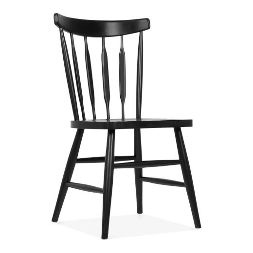 Cult Living Windsor Dorothy Black Wooden Chair | Cult Furniture UK